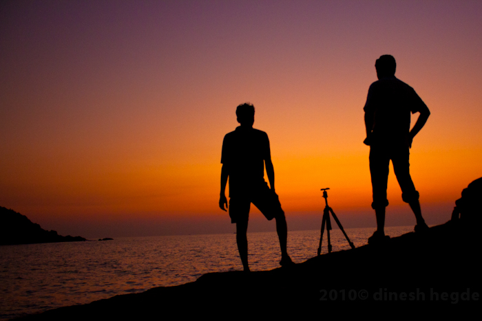 Me ,Sudheer and my tripod