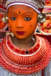 'Lava' Theyyam after full makeup